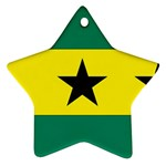 Flag_Sao Tome & Principe Ornament (Star)