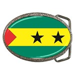 Flag_Sao Tome & Principe Belt Buckle