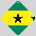 Flag_Sao Tome & Principe Car Window Sign
