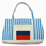 Flag_Russia Striped Blue Tote Bag