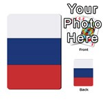 Flag_Russia Multi-purpose Cards (Rectangle)