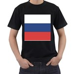Flag_Russia Black T-Shirt