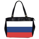 Flag_Russia Oversize Office Handbag (Two Sides)