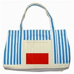 Flag_Poland Striped Blue Tote Bag
