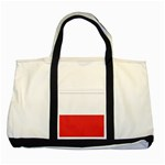 Flag_Poland Two Tone Tote Bag