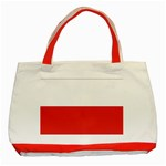 Flag_Poland Classic Tote Bag (Red)
