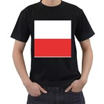 Flag_Poland Black T-Shirt
