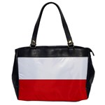 Flag_Poland Oversize Office Handbag (One Side)