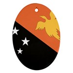 Flag_Papua New Guinea Ornament (Oval)