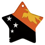 Flag_Papua New Guinea Ornament (Star)
