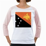 Flag_Papua New Guinea Girly Raglan
