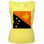 Flag_Papua New Guinea Women s Yellow Tank Top