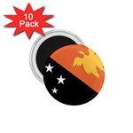 Flag_Papua New Guinea 1.75  Magnet (10 pack)