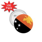 Flag_Papua New Guinea 1.75  Button (100 pack)