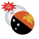 Flag_Papua New Guinea 2.25  Button (10 pack)