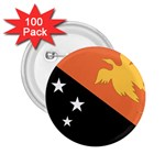 Flag_Papua New Guinea 2.25  Button (100 pack)