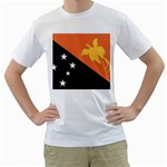 Flag_Papua New Guinea White T-Shirt