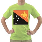 Flag_Papua New Guinea Green T-Shirt