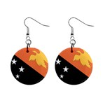 Flag_Papua New Guinea 1  Button Earrings