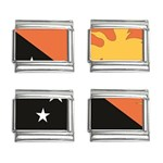Flag_Papua New Guinea 9mm Italian Charm (4 pack)