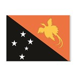 Flag_Papua New Guinea Sticker (A4)