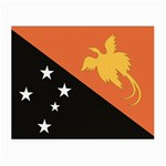 Flag_Papua New Guinea Glasses Cloth (Small, Two Sides)