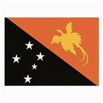 Flag_Papua New Guinea Glasses Cloth (Large, Two Sides)