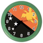 Flag_Papua New Guinea Color Wall Clock