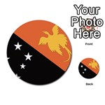Flag_Papua New Guinea Multi-purpose Cards (Round)