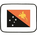 Flag_Papua New Guinea Mini Fleece Blanket(Two Sides)