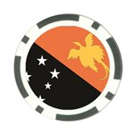 Flag_Papua New Guinea Poker Chip Card Guard (10 pack)