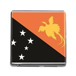Flag_Papua New Guinea Memory Card Reader with Storage (Square)