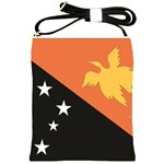 Flag_Papua New Guinea Shoulder Sling Bag