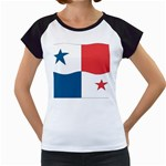 Flag_Panama Women s Cap Sleeve T