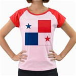 Flag_Panama Women s Cap Sleeve T-Shirt