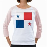 Flag_Panama Girly Raglan