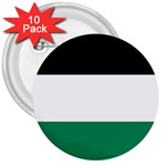 Flag_Palestine 3  Button (10 pack)