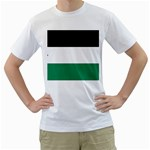 Flag_Palestine White T-Shirt