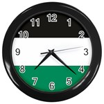 Flag_Palestine Wall Clock (Black)