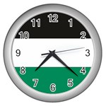 Flag_Palestine Wall Clock (Silver)