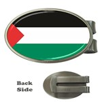 Flag_Palestine Money Clip (Oval)