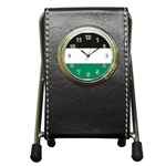 Flag_Palestine Pen Holder Desk Clock