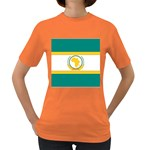 Flag_Org Women s Dark T-Shirt