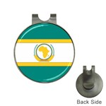 Flag_Org Golf Ball Marker Hat Clip