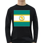 Flag_Org Long Sleeve Dark T-Shirt