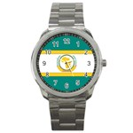 Flag_Org Sport Metal Watch