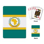 Flag_Org Playing Cards Single Design