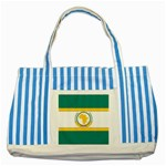 Flag_Org Striped Blue Tote Bag
