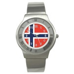 Flag_Norway Stainless Steel Watch