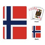 Flag_Norway Playing Cards Single Design